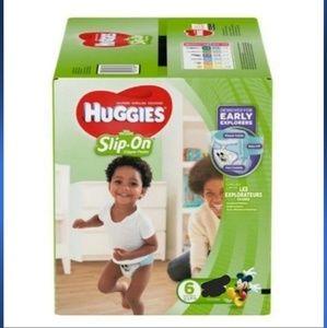 NIP Huggies Little Movers SLIP ON DIAPER PANTS